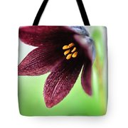 Northern Rice Root Fritillaria Tote Bag
