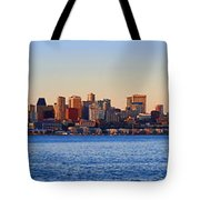 Northwest Jewel - Seattle Skyline Cityscape Tote Bag