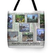 Northwoods Wildlife Tote Bag