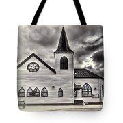 Norwegian Church Cardiff Bay Cream Tote Bag