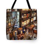 Nostalgia  Pharmacy Tote Bag