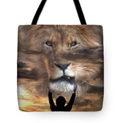 Not All Who Say Lord Lord Tote Bag