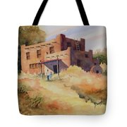 Not Far From Espanola Tote Bag