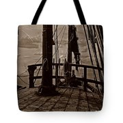 Notorious The Pirate Ship 4 Tote Bag
