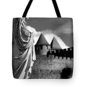 Notre Dame Carcassonne Tote Bag