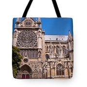 Notre Dame Cathedral Rose Window Tote Bag