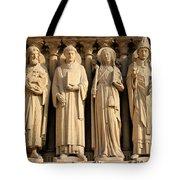 Notre Dame Details 1 Tote Bag
