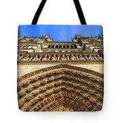 Notre Dame Details 7 Tote Bag