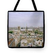 Notre Dame In Paris Tote Bag
