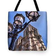 Notre Dame Tower Tote Bag