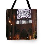 Notre Dame Votive Candles Tote Bag