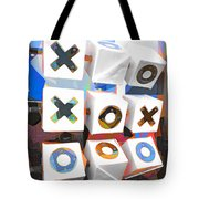 Noughts And Crosses Tote Bag