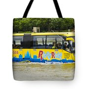 Novel River Boat Tote Bag