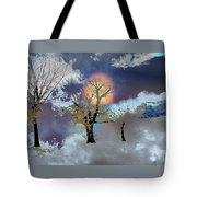 November Moon Tote Bag