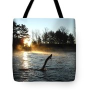 November Morning Mist Tote Bag
