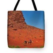 Nubian Camel Rider Tote Bag