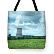 Nuclear Cooling Tower Tote Bag