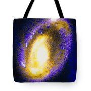 Nucleus Of Cartwheel Galaxy With Knots Tote Bag