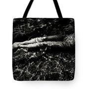 Nude In The Sea Tote Bag