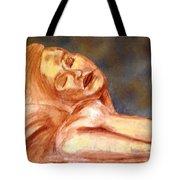 Nude Lady In Repose Tote Bag