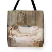 Nude On A Sofa Tote Bag