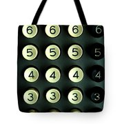 Numbers Game Tote Bag