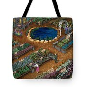 Nursery Time Tote Bag by Katherine Young-Beck