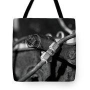 Nuts Bolts Pipes Tote Bag