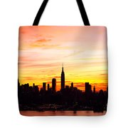 Ny Saturday Sunrise Tote Bag
