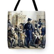 Ny Slum Children, 1864 Tote Bag