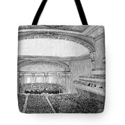 Nyc: Carnegie Hall, 1891 Tote Bag