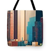 Nyc Colors And Lines II Tote Bag