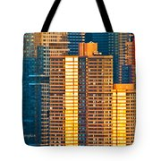 Nyc Colors And Lines IIi Tote Bag