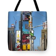 Nyc Directions Tote Bag