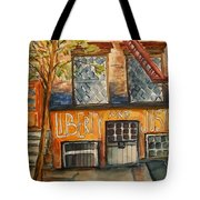 Nyc Graffiti Tote Bag