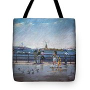 Nyc Grand Ferry Park 2 Tote Bag
