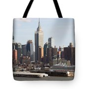Nyc In The Afternoon Tote Bag