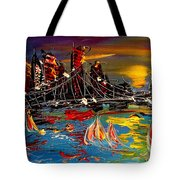 Nyc Night Tote Bag