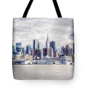 Nyc Skyline 2 Tote Bag