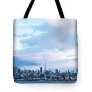 Nyc-sundown Blue I Tote Bag