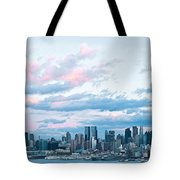 Nyc Sundown Blue II Tote Bag