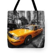 Nyc Yellow Cab Tote Bag