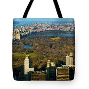 Nyc's Uber Park Tote Bag