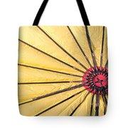 Nylon Sun Rays Tote Bag