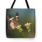 Nymphalid Butterfly Cethosia Luzonica Tote Bag