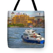 Nypd In The Water Tote Bag