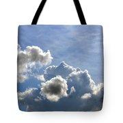 O Spacious Skies Tote Bag