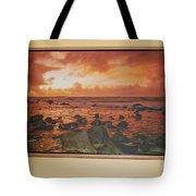 Oak Floater Frame Tote Bag