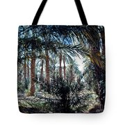 Oasis At Death Valley Tote Bag