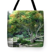 Oasis In A Sea Of Green Tote Bag